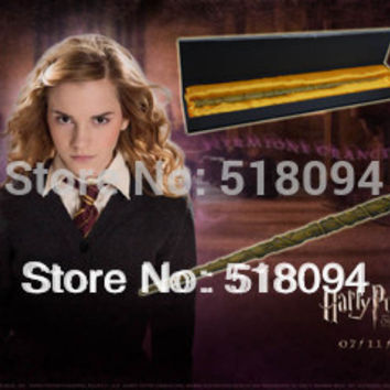 "Free Shipping Hot Harry Potter Hermione 14 5"" Magical Wand Replica"
