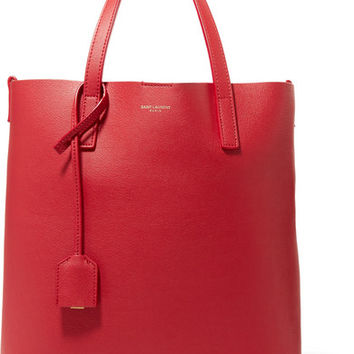 Saint Laurent - Shopper textured-leather tote