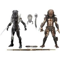 Alien VS. Predator NECA Exclusive Action Figure 2Pack Berserker Predator City Hunter