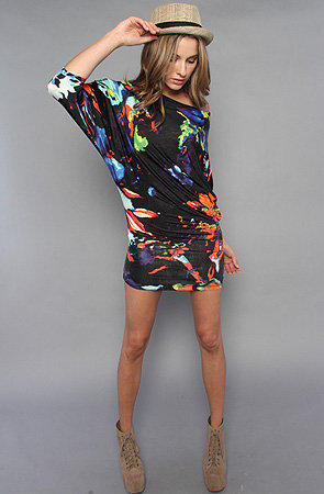 The Paint Splash Dress in Navy by *NYC Boutique | Karmaloop.com - Global Concrete Culture