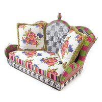 MacKenzie-Childs - Flower Market Outdoor Porch Swing