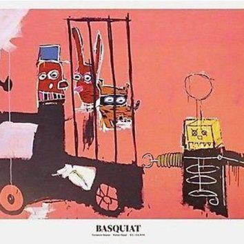Molasses, Exhibition Poster, Jean-Michel Basquiat