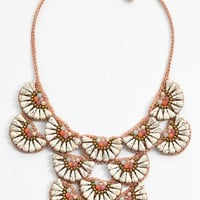 Women's Panacea Howlite Statement Necklace