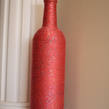 Vase, Bachelorette party, birthday party, party, stagette, home decor, centerpiece, gift, pink, sparkle