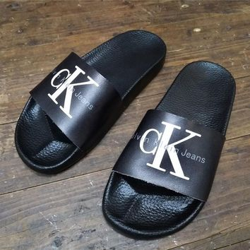 CK Calvin Klein Women Fashion Sandals Slippers Shoes