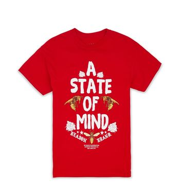 STATE OF MIND TEE-RED