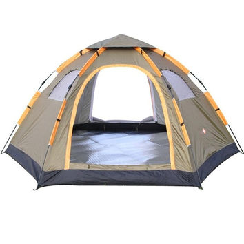 6 Person Large Waterproof Camping Tent