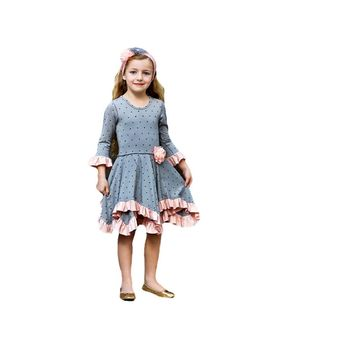 Giggle Moon-Graced Hanky Dress, (Size 4)