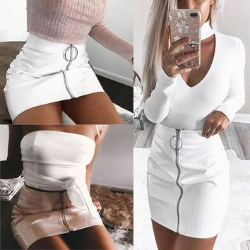 O - Ring White Skirt