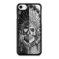 Indian Sugar Skull Black And White Iphone 8 Case