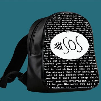 Shop 5sos Bag on Wanelo