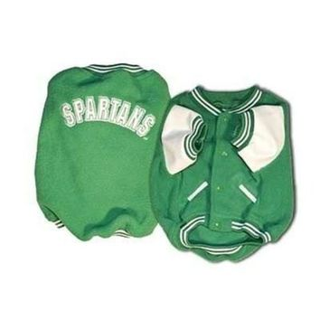 auguau Michigan State Varsity Dog Jacket