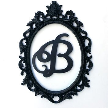 Framed Letters, Choose Your Color & Letter