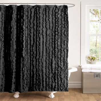 Lush Decor Modern Chic Shower Curtain