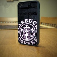 Starbuck logo For Apple Phone, iPhone 4/4S Case, iPhone 5 case, Cover Plastic