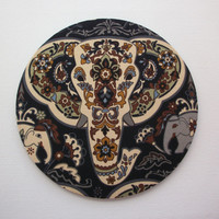 Mouse Pad mousepad / Mat - Rectangle or round - majestic elephant
