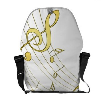 Musical Courier Bag