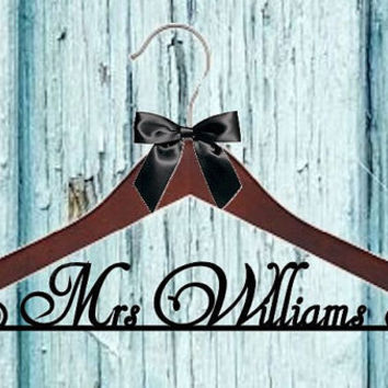 What does your wedding Hanger look like? Here you will find the Perfect Wedding Dress Bridal Hanger. Personalized Custom Wedding Hanger.