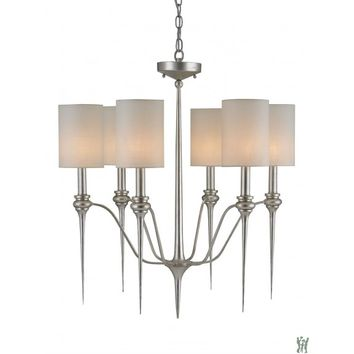 Currey and Company 9806 Chaddbury 26 Inch Chandelier
