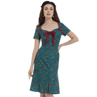 Charie Antique Cherry Bell Shape Dress