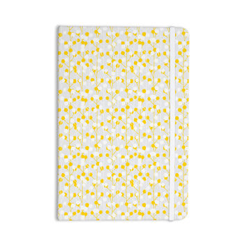 "Julie Hamilton ""Lemon Drop"" Yellow Gray Everything Notebook"