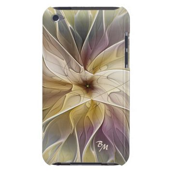 Floral Fantasy Pattern Abstract Fractal Monogram Case-Mate iPod Touch Case