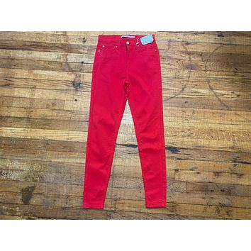 Carnaby Red Skinny Jeans
