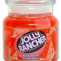 Jolly Rancher by Hanna's Candle 14.75-Ounce Jolly Rancher Watermelon Jar Candle