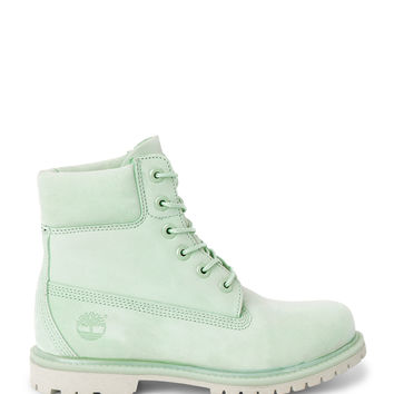 Icon 6-inch Premium Boot - Green - Shoes - Weekday GB