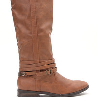 Qupid Vince Wrap Knee High Boots at PacSun.com