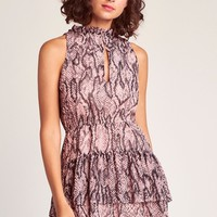 Wild Child Dress, Mauve Rose