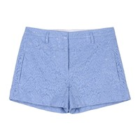 N° 21 Lace Cotton Shorts