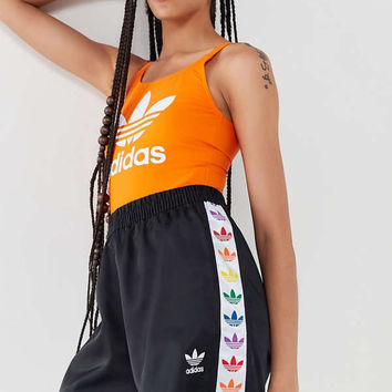 adidas Pride Rainbow Trefoil Tape Short | Urban Outfitters