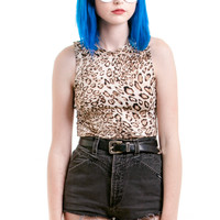 Kelly Leopard Crop Top