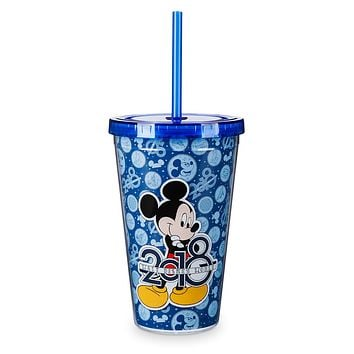 Disney Parks 2018 Walt Disney World Mickey Tumbler with Straw New