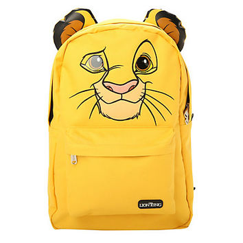 Disney The Lion King Simba Face Backpack
