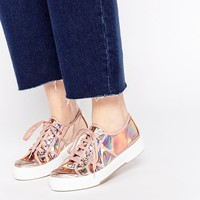 ASOS DEVINELLE Chunky Lace Ups