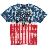 Thrasher Skategoat Flag Tied Dye T-Shirt - Men's at CCS