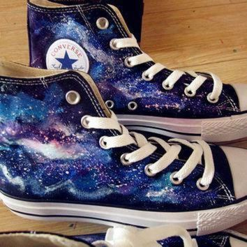 ICIKGQ8 galaxy converse custom galaxy converse hand painted shoes galaxy shoes converse custom