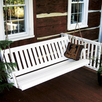 Pine Traditional English Porch Swing
