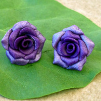 Made to order Rose Post Earrings