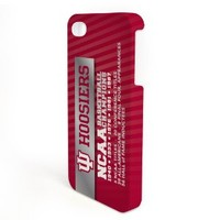 Indiana University - iPhone 4/4s Plastic WrapAround Slim Case - Design 7