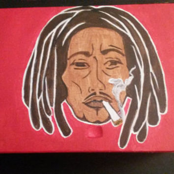 Bob Marley Stash Box