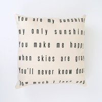 You Make Me Happy Decorative Pillow | Altar'd State