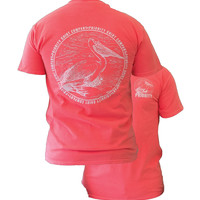 Southern Couture High Priority Pelican Bird Unisex Bright T Shirt