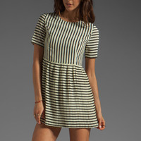 MINKPINK Complete Me Striped Dress in Off White from REVOLVEclothing.com