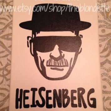 Heisenberg. Walter White. Breaking Bad. Canvas. Quote Canvas. 9 x 12 inch