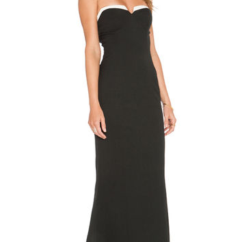 LUXE O'Keefe Dress in Black & White