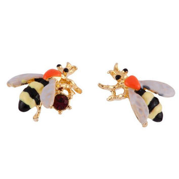 Women Lady Earring Fashion Cute Bee 3D Jewelry Gift With Thanksgiving&Christmas Gift