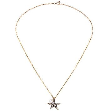 YARA - Starfish Pearl Necklace